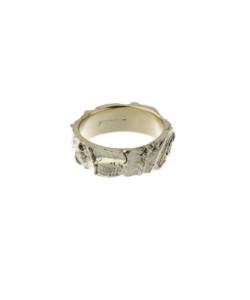 Produkt Prsten žluté otisky zrna