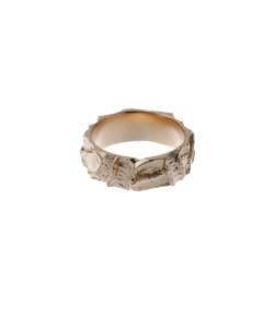 Produkt Prsten růžové otisky zrna
