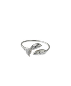 Produkt buds ring with zircon