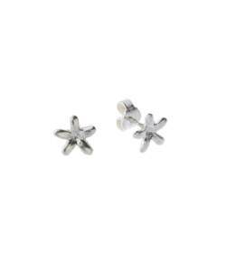 Produkt Náušnice stříbrné květy