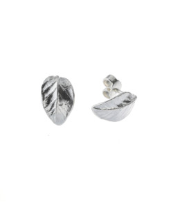 Produkt Náušnice stříbrné listy