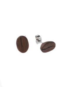 Produkt Náušnice dřevěná zrna