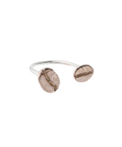 Produkt Prsten dvě růžová zrna