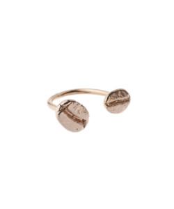 Produkt Prsten dvě zrna růžový