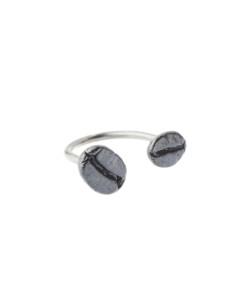 Produkt Prsten dvě patinovaná zrna