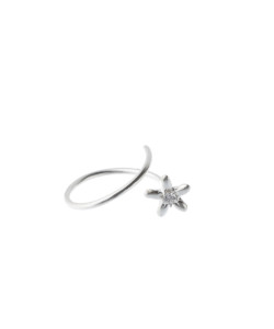 Produkt Sprout blossom ring with zircon