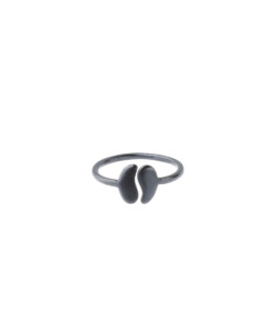 Produkt Ring halved bean, small, patinated