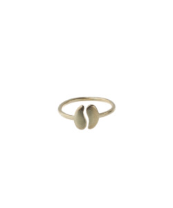 Produkt Ring halved bean, small, yellow