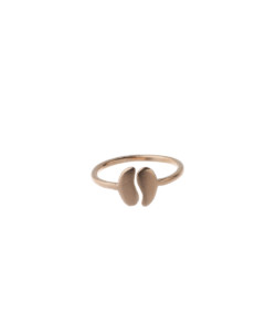 Produkt Ring halved bean, small, pink
