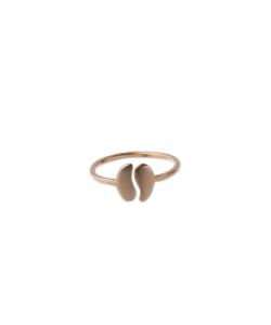 Produkt Prsten malé růžové půlené zrno