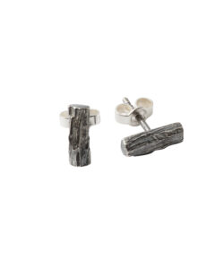 Produkt Patinated wood earrings