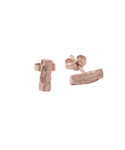 Produkt Náušnice růžové dřevo kávovníku